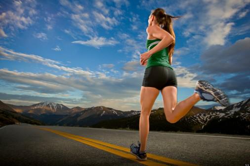 Correr. ejercicios para relajarse