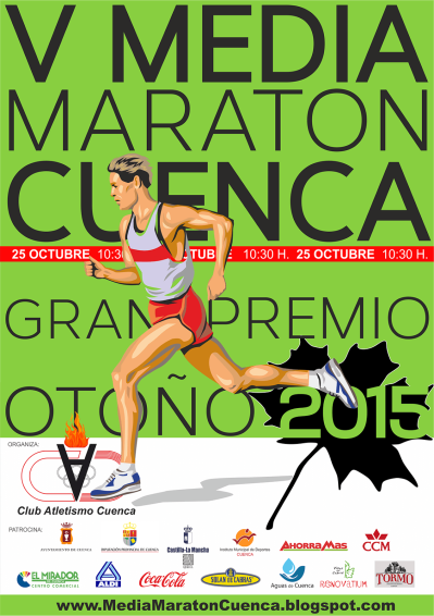 media maraton cuenca gran premio otoño