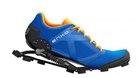 Zapatillas con amortiguadores