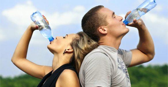 Correcta hidratación antes de hacer ejercicio