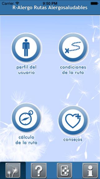 Aplicaciones para alergia