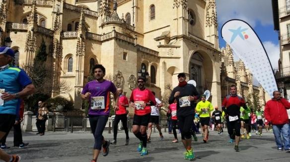 Media maratón de Segovia