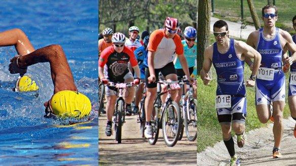 collage-triatlon