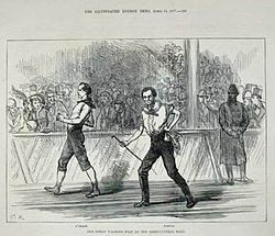Weston vs Oleary seis días 1877